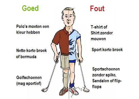 golfkleding-etiquette