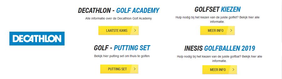 decathlon golfen