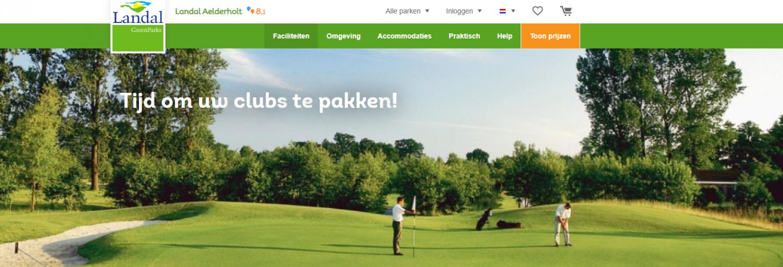 landal aelderholt golf
