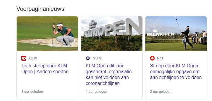 Klm Open 2021