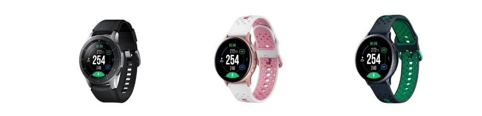 Samsung galaxy golf horloge